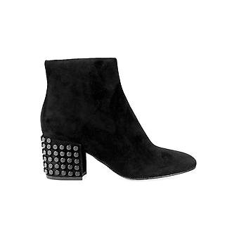 KENDALL + KYLIE BLYTHE BLACK ANKLE BOOT