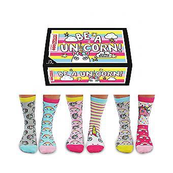 United Oddsocks Unicorn Socks