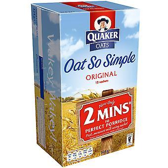 Quaker Oat So Simple Original Sachets