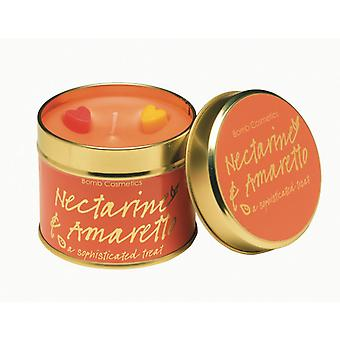 Bom cosmetica Tin kaars Nectarince & Amaretto