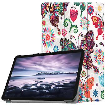 Cover Ultra Slim Fit per Samsung Galaxy Tab (A) 10,5 (2018)-farfalla fiori