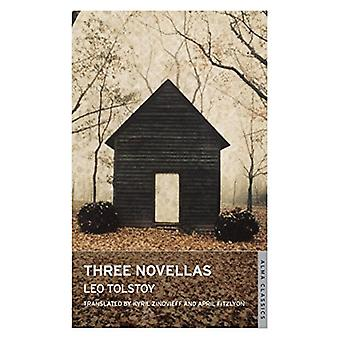 Three Novellas by Leo Tolstoy - April Fitzlyon - 9781847494795 Book