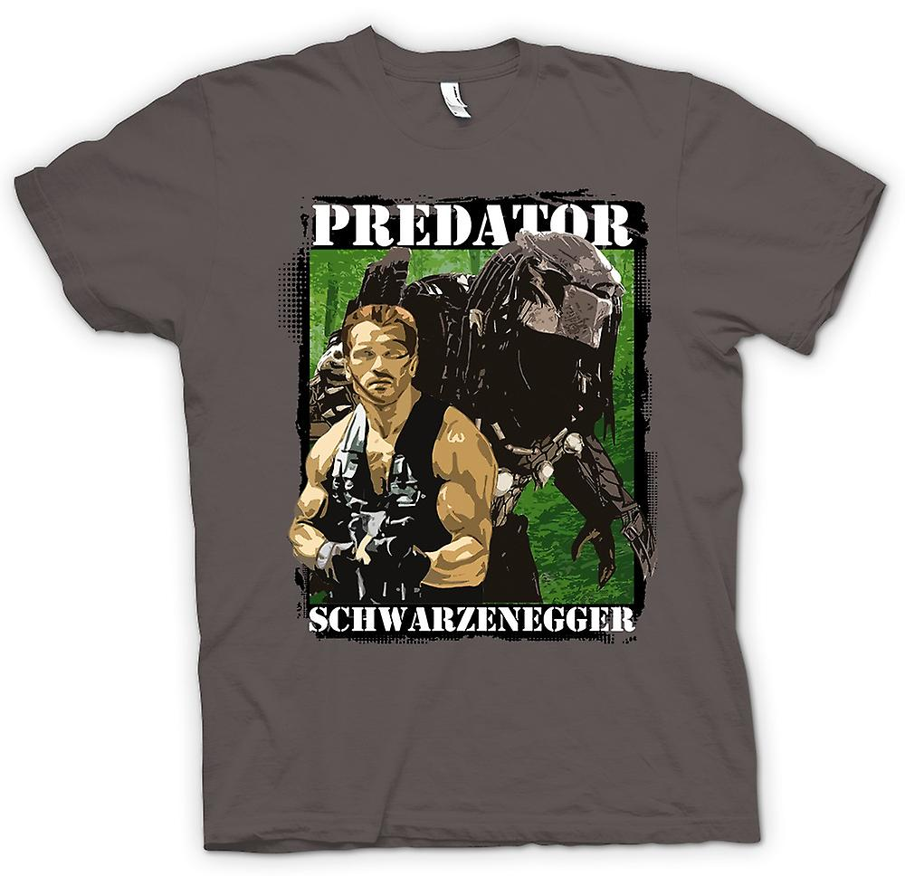 T-shirt Femmes - Predator Alien - Schwarzenegger