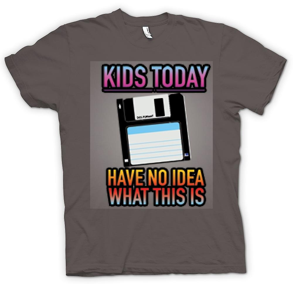 Womens T-shirt - Kids Today Have No Idea What This Is - Floppy Disk
