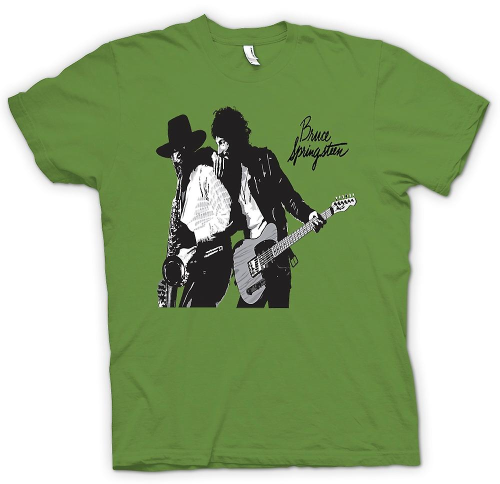 Mens t-shirt-Bruce Springsteen Born To Run