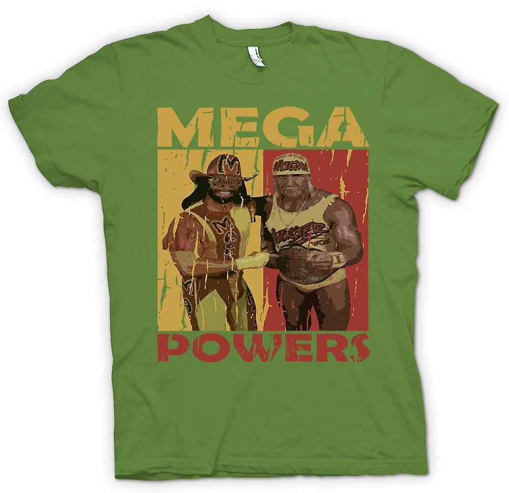 Mens T-shirt - Mega Powers Classic Wrestling