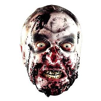 Zombie Halloween Card Face Mask