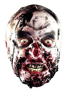 Visage carte Zombie Halloween Mask