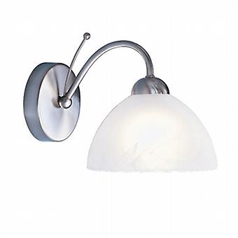 1131-1SS Milanese Satin Silver Single Wall Light