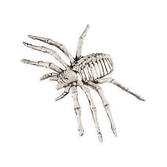 Small spider skeleton prop