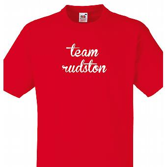Team Rudston Red T shirt