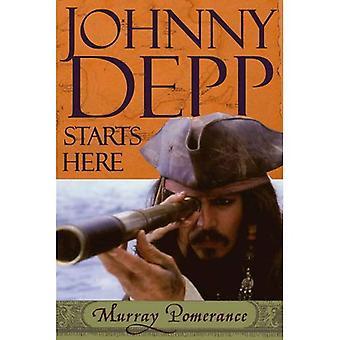 Johnny Depp comienza aquí