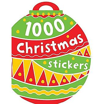 1000 stickers: Kerstmis