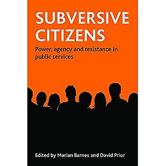 Subversive Citizens: Power, Agency and Resistance in Public Services
