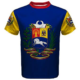 Venezuela Coat of Arms Sublimated Sports Jersey