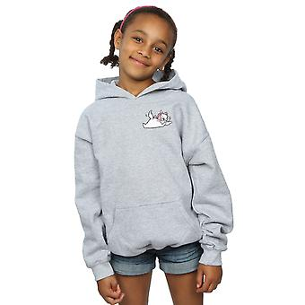 Disney Girls Aristocats Marie Sweet Backside Breast Print Hoodie