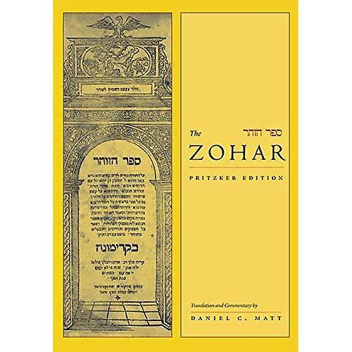 The Zohar  Vol one (Zohar  The Pritzker Editions)