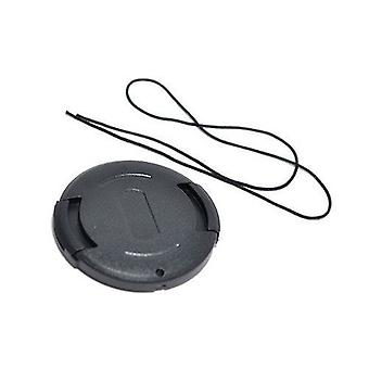 Dot.Foto 43mm Snap On Lens Cap with string / leash for Cameras, Camcorders and Lenses - Canon, Casio, JVC, Olympus, Panasonic, Samsung, Toshiba