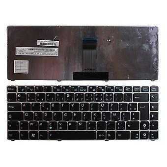 Asus UL20A-2X008V Silver Frame Black French Layout Replacement Laptop Keyboard