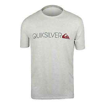 Quiksilver Mens Transit Lane T-Shirt - Athletic Gray Heather