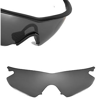 M Frame Heater Replacement Lenses Polarized Black Iridium by SEEK fits OAKLEY