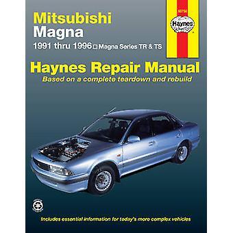 Mitsubishi Magna Australian Automotive Repair Manual - 1991 to 1996 by