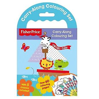 Fisher Price Carry Along Colouring Book