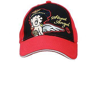 Gorra de béisbol - Betty Boop - Red Wings (Jóvenes/Niños) Nuevo Sombrero boop696