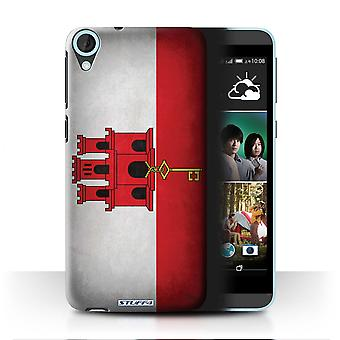 STUFF4 Case/Cover for HTC Desire 820q Dual/Gibraltar/Gibraltarian/Flags