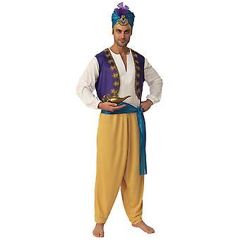 Sultan Alibaba Ali Baba Aladdin Genie Arabian Desert Prince Adult Mens Costume