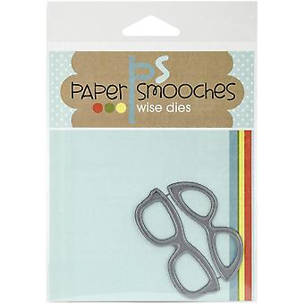 Paper Smooches Die-Glasses - DED182