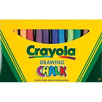 Art Colored Chalk 12 Pkg Assorted Colors 51 0403