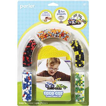 Perler Fun Fusion Fuse Bead Aktivität Race Kit Car P559 81