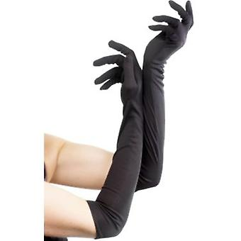 Smiffys Gloves Black Long 52Cm/20.5 Inches (Kostüme)