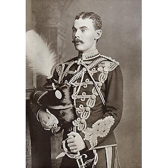 Lieutenant Colonel David Stanley William Ogilvy 11. Earl Of Airlie 1856 bis 1900 schottischen Peer in der Schlacht von Diamond Hill während der Zweiten Burenkrieg aus Südafrika und die Transvaal-Krieg B getötet