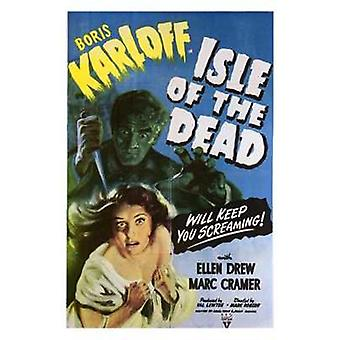 Остров мертвых кино плакат (11 x 17)