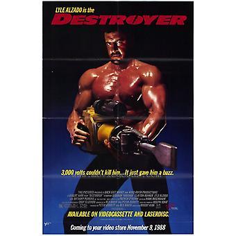 Affiche du film destroyer (11 x 17)