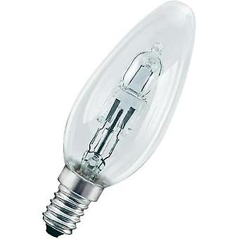 Eco halogen OSRAM 230 V E14 20 W Warm white EEC: C Candle shape dimmable 1 pc(s)