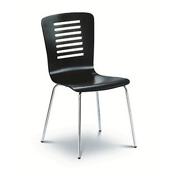 Kaydee Black Chrome Dining Chair