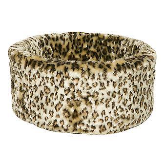 Leopard kat hyggelige Bed Medium 50cm
