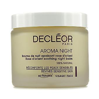 Orient Rose aromatique de DECLEOR Aroma Night baume de nuit (Salon Size) 100ml/3,3 oz
