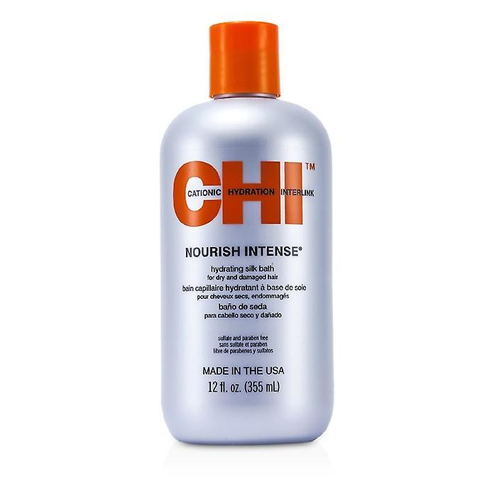 CHI Nourish Intense Hydrating Silk Bath (For Dry & Damaged Hair) 350ml/12oz