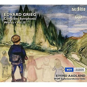 E. Grieg - Grieg: Obra sinfónica completa, importación USA Vol. 2 [SACD]