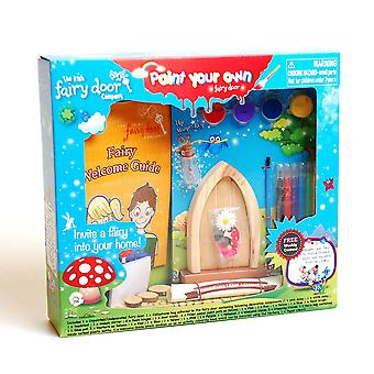 Paint Your Own Irish Fairy Door 3+