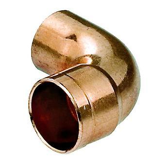 Vand Pipe Fitting albue kobber-stik lodde mandlige x kvindelige 22mm i Diameter