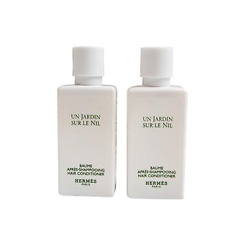 Hermes Jardin Sur Le Nil parfümierte Conditioner 40 Ml 2er-set