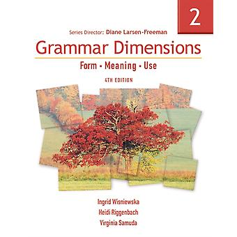 Grammar Dimensions 2: Form Meaning Use (Paperback) by Larsen-Freeman Diane