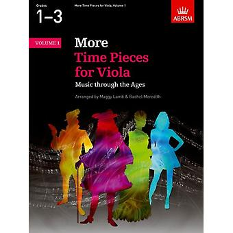 More Time Pieces for Viola Volume 1: Music through the Ages (Time Pieces (ABRSM)) (Sheet music)