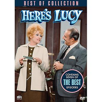 Best of Here's Lucy [DVD] USA import