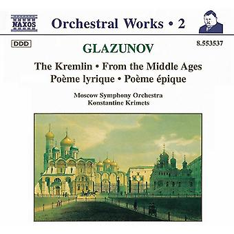 A. Glasunow - Glasunow: Orchesterwerke Vol. 2 [CD] USA import
